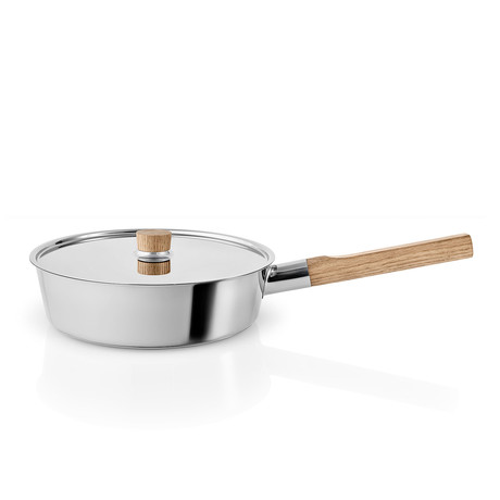 Nordic Kitchen Stainless Steel Sauté Pan