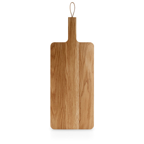 Wooden Cutting Board with Leather Strap (32cm x 24cm)