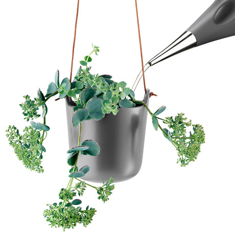 Hanging Self Watering Pot (Chalk White)