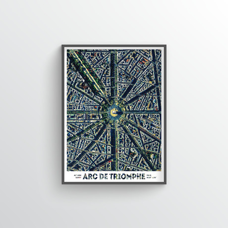 "Arc de Triomphe (18""W x 24""H)"