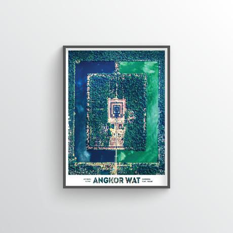 """Ankor Wat (18""""W x 24""""H)"""