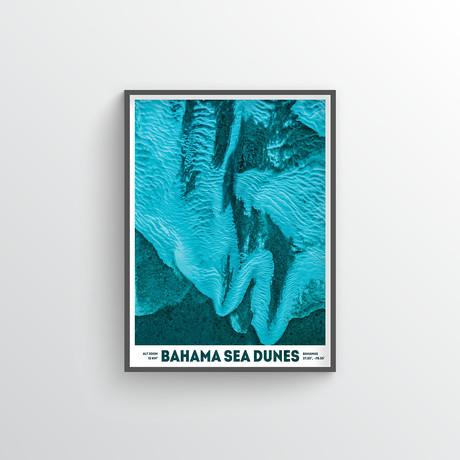 "Bahama Sea Dunes (18""W x 24""H)"