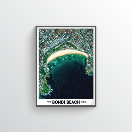 """Bondi Beach (18""""W x 24""""H)"""
