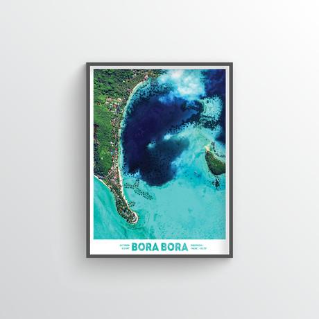 "Bora Bora (18""W x 24""H)"