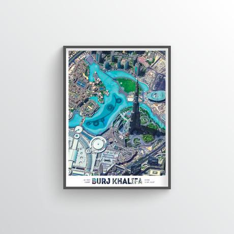 "Burj Khalifa (18""W x 24""H)"