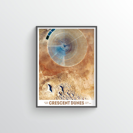 """Crescent Dunes (18""""W x 24""""H)"""