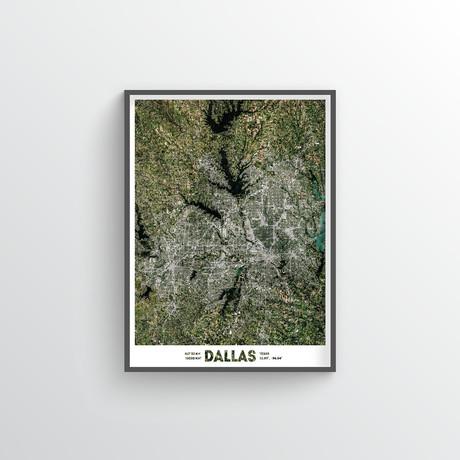 "Dallas Fort Worth (18""W x 24""H)"