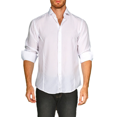 Richard Button-Up Shirt // White (S)