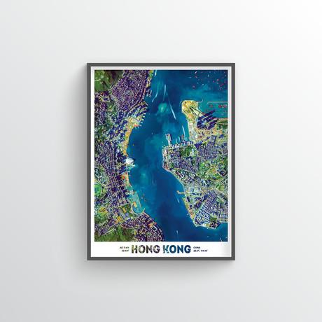 "Hong Kong (18""W x 24""H)"