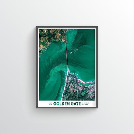 """Golden Gate Bridge (18""""W x 24""""H)"""