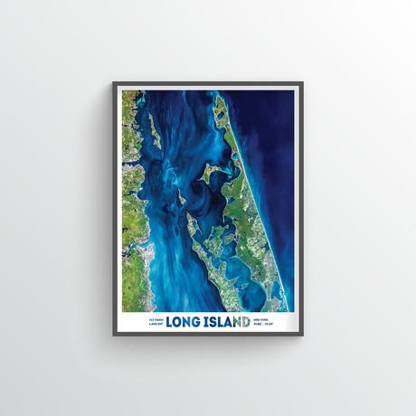 """Long Island (18""""W x 24""""H)"""