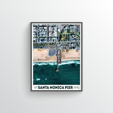 "Santa Monica Pier (18""W x 24""H)"