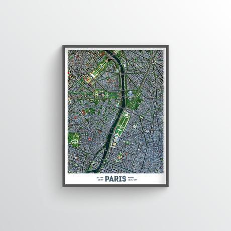 """Paris (18""""W x 24""""H)"""
