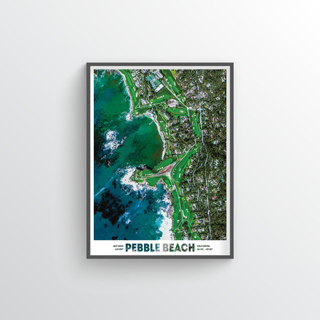 "Pebble Beach (18""W x 24""H)"