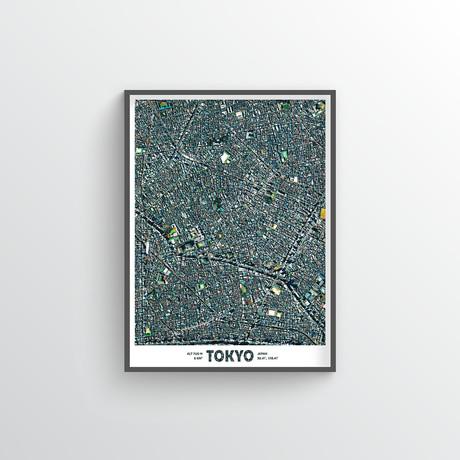 """Tokyo (18""""W x 24""""H)"""