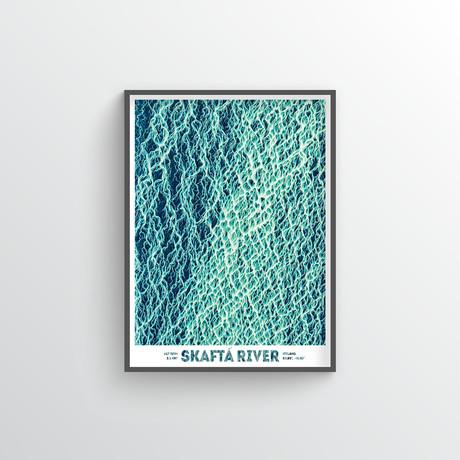 "Skafta River (18""W x 24""H)"