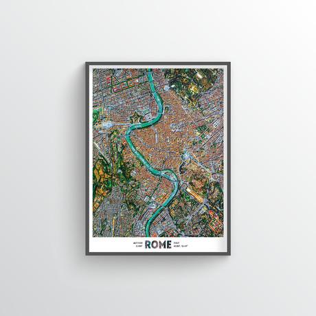 """Rome (18""""W x 24""""H)"""