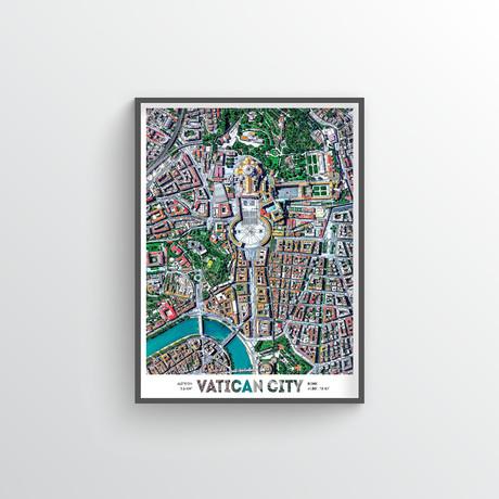 "Vatican (18""W x 24""H)"