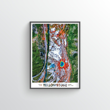 "Yellow Stone Park (18""W x 24""H)"