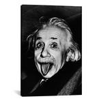 "Albert Einstein, Sticking His Tongue Out // Arthur Sasse (26""W x 40""H x 1.5""D)"