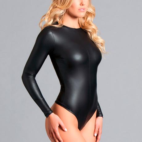 Viola Bodysuit // Black (Small)