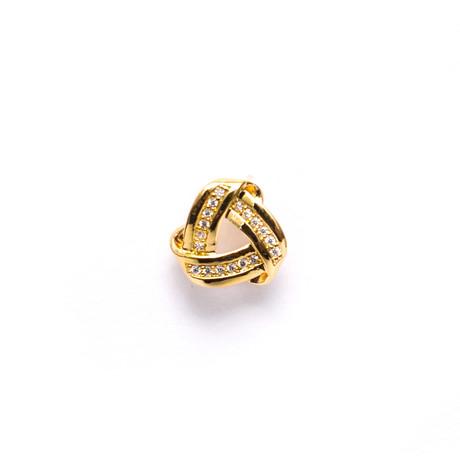 Endless Knot Lapel Pin (Gold)
