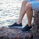 Men's XDrain Nova Water Shoes // Black + White (US: 8)