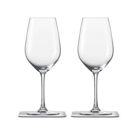 Wine // Magnetic Crystal Glassware // Set Of 2