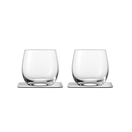 Whisky // Magnetic Crystal Glassware // Set Of 2