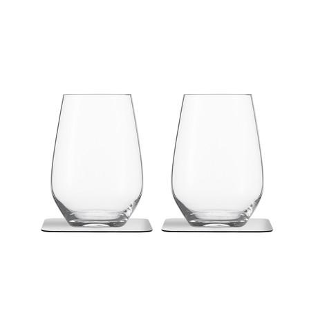 Longdrink // Magnetic Crystal Glassware // Set Of 2