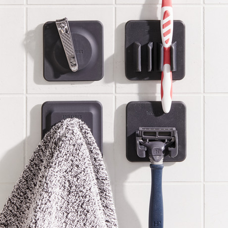 4-in-1 Tile Series (Charcoal)
