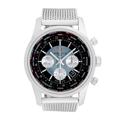 Breitling TransOcean Unitime Chronograph Automatic // Pre-Owned