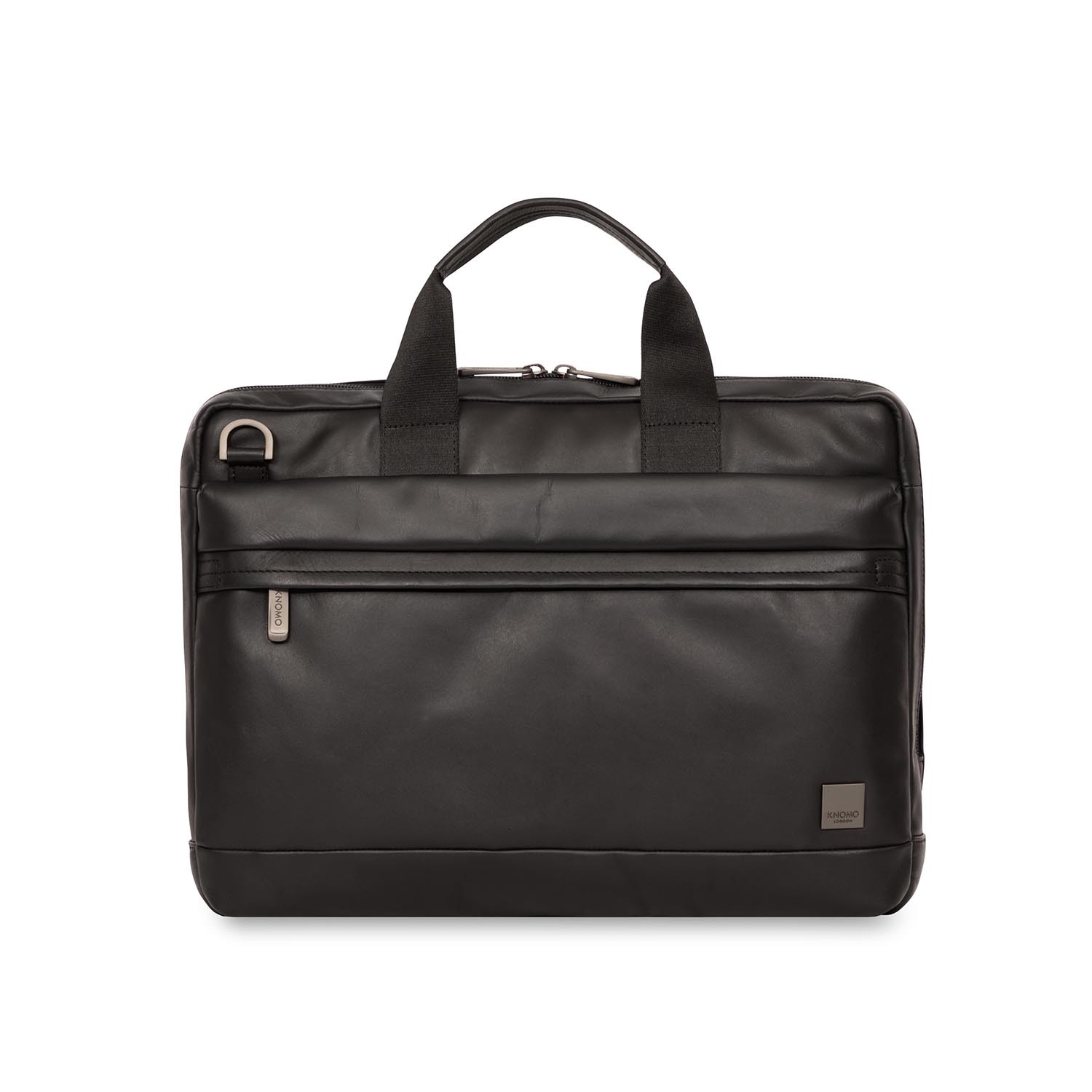 14 Quot Foster Briefcase Black Knomo London Touch Of Modern