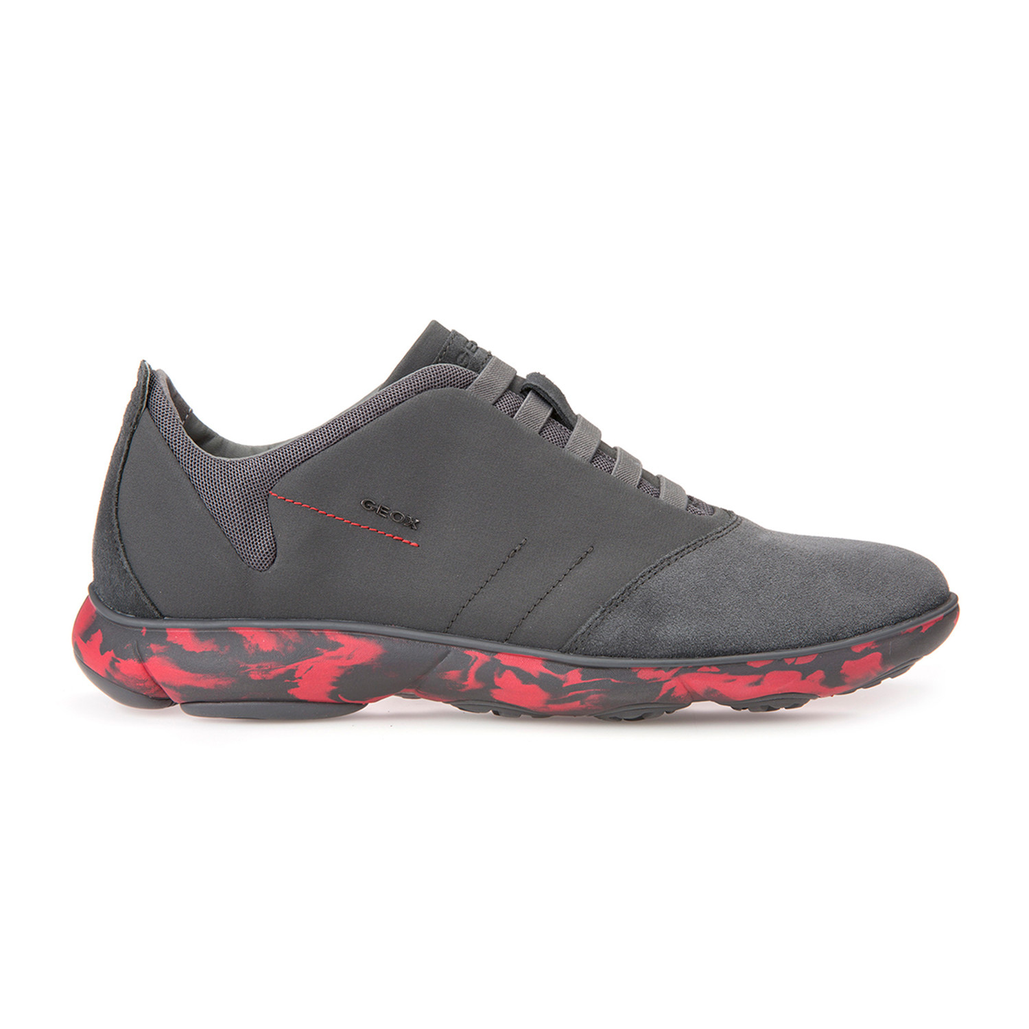 5bcc1009c2c Nebula Sneakers // Dark Grey + Red (Euro: 45) - Geox - Touch of Modern