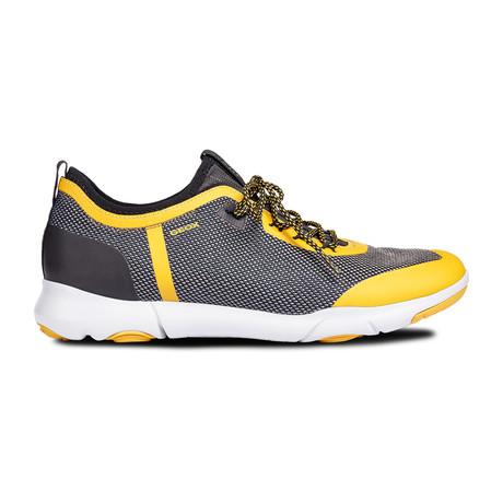 Nebula X Sneakers // Navy + Yellow (Euro: 39)