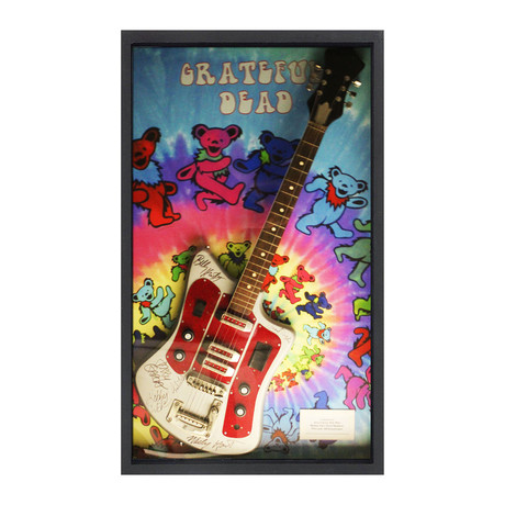 Signed + Framed Guitar // Grateful Dead