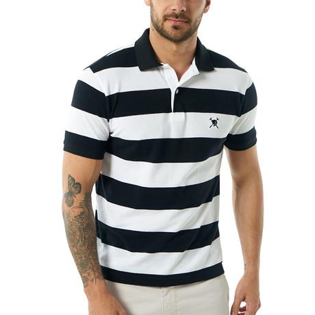 Short Sleeve Polo // Black (S)