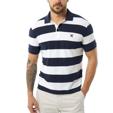 Short Sleeve Polo // Navy (S)