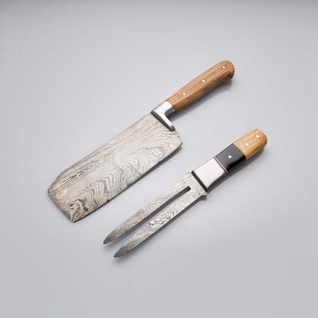 Kitchen Knife // Set of 2 Pcs // 11
