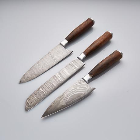 Kitchen Knife // Set of 3 Pcs // 16