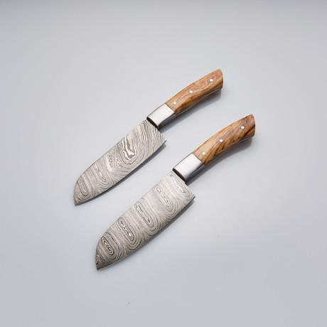 Chef Knife // Set of 2 Pcs // 18