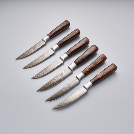 Steak Knife // Set of 6 Pcs // 23
