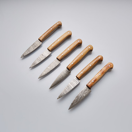 Steak Knife // Set of 6 Pcs // 25
