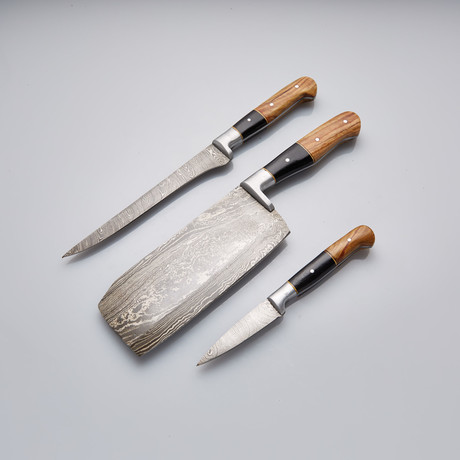 Steak Knife // Set of 3 Pcs // 26