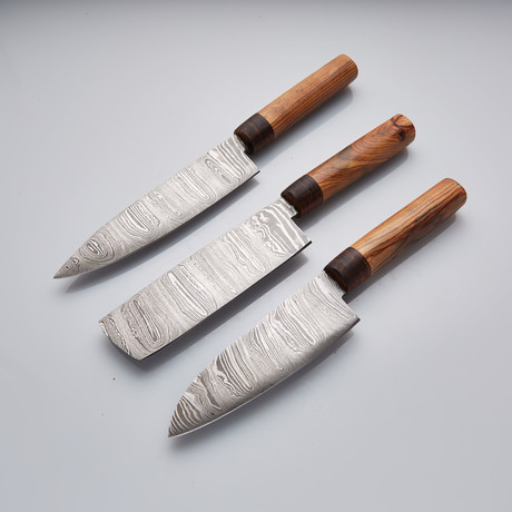Chef Knife // Set of 3 Pcs // 27