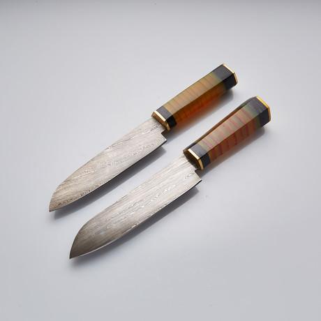 Chef Knife // Set of 2 Pcs // 31