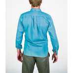 Niih Shirt // Ocean Blue (M)