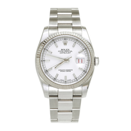 Rolex Datejust 36 Automatic // 116234 // 116234-PO2 // Pre-Owned