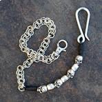 Jeans Chain // Diaz // Silver + Black