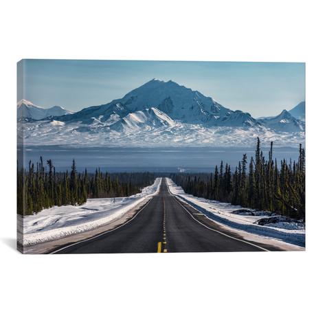 """Alaska Road Trip (26""""W x 18""""H x 0.75""""D)"""